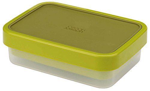 Joseph Joseph 81031 GoEat Compact 2-in-1 Lunch Box, Green