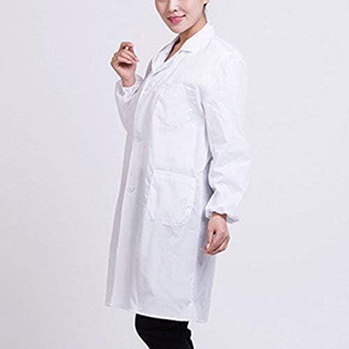 Qutuo Bata de Laboratorio Blanca Doctor Hospital Científico ...