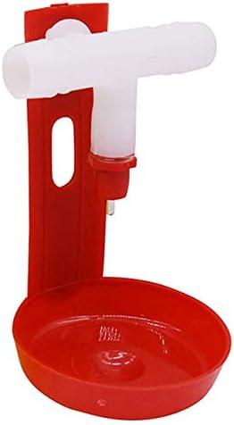 SODIAL 20 Pcs Automatic Chicken Water Nipple Drinker for Chicken Nipple Drinkers Automatic Watering Farming Equipment
