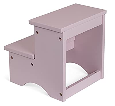 BirdRock Home Childrens step stool (pink)
