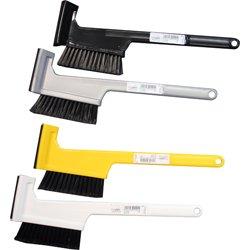 Eiskratzer mit Besen - Autobesen TopFlop Beste Qualitätsware in verschiedenen Farben, mit Gummilippe
