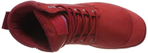 Palladium Stringate rouge J81 Chevron Red Scarpe U Adulto rio Spor Cuf Unisex Rosso Derby Basse Wpn – XxnSrXq