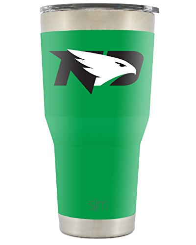 Grand Forks North Dakota (Simple Modern University of North Dakota 30oz Cruiser Tumbler - Vacuum Insulated Stainless Steel Travel Mug - UND Fighting Hawks Tailgating Hydro Cup College Flask)