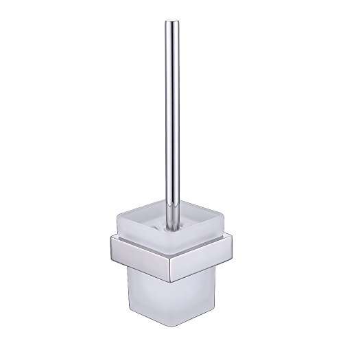 Brush Mount Wall Nickel - Kes Bathroom Toilet Brush with Holder Wall Mount, SUS304 Stainless Steel Holder Polished Finish, A23030