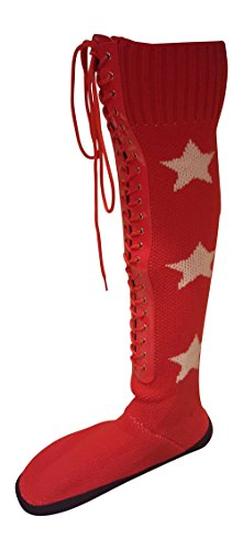 Wrestling Costume Boots Red
