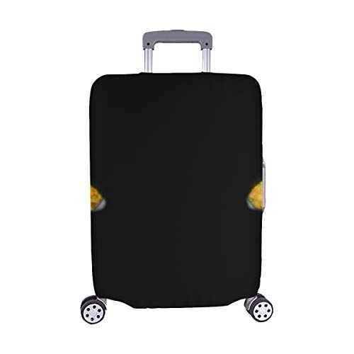 Delicate Cat Eyes Spandex Trolley Case Travel Luggage Protector Suitcase Cover 28.5 X 20.5 Inch(only Dust Cover) -