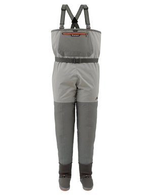 Simms Freestone Stockingfoot Wader - Men's Smoke, S
