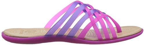 Violet Femme ultraviolet Huarache Crocs Violet Tongs vibrant wXxEBOq40