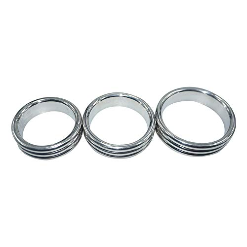 (40mm/45mm/50mm for Choose Top Quality Design Stainless Steel Ring Metal Joyful Toys Ring,He's 40mm)