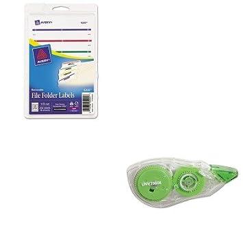 kitave5235unv75606 – Value Kit – Avery extraíble archivador de etiquetas de inyección de tinta/láser