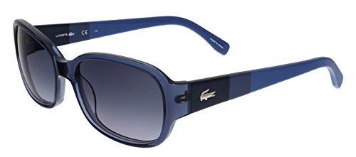 Lacoste L784/S 424 Blue Rectangle sunglasses - Sunglasses Marchon