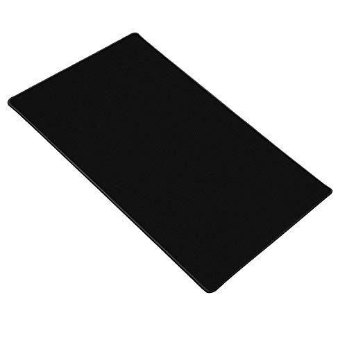 """Gaming Mouse Mat, Jelly Comb XL Large 35.4""""x15.7"""" Dimension - Non-Slip Rubber Base, Special Textured Surface Desktop Mouse Pad for Computer, PC and Laptop - Black"""