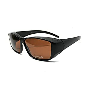 FIT OVER SUNGLASSES WITH POLARIZED LENSES