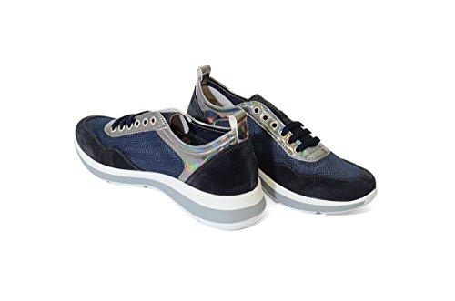 42S4 BLU Scarpa donna sneaker Frau