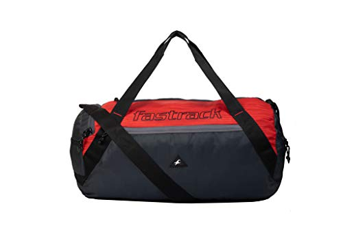 Fastrack Polyester 18 inches Red Travel Duffle (A0720NRD01)