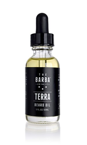Beard Oil for Men L (1 Oz) - Conditioner for Men, Manly Fragrance, Adds Shine, Soften, and Give Your Beard a Healthy Looking, Blend of Grapefruit, Tea Tree and Ginger - Boulevard Shop Gift