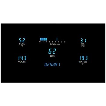 dakota digital dash universal 5 gauge cluster instrument system