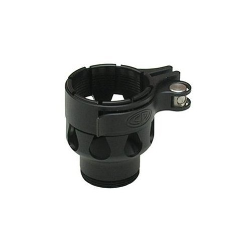 (Custom Products Clamping Feedneck - Shocker NXT/ Ion XE/ EOS - Dust Black)
