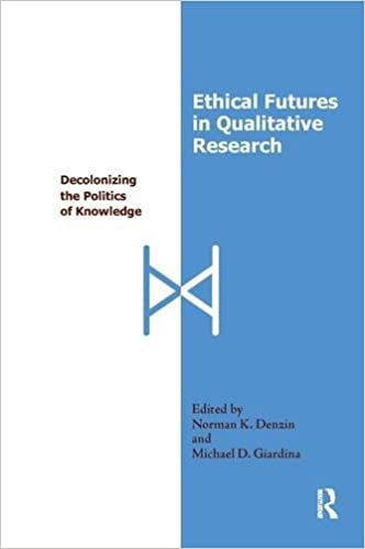 Ethical Futures in Qualitative Research: Decolonizing the Politics of Knowledge (International Congress of Qualitative Inquiry Series)