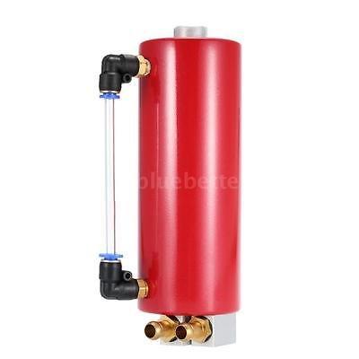 FidgetFidget Billet Aluminium Racing Engine Oil Catch Tank Can Reservoir Red Universal by FidgetFidget (Image #3)