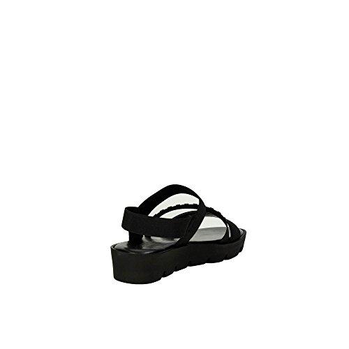 002 Naiset Musta Pehmeä Ibc14 Sandaali Cinzia Hq4BZ7