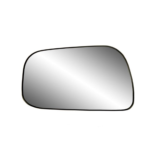 (Fit System 88126 Toyota Camry Sedan Left Side Manual/Power Replacement Mirror Glass with Backing Plate)