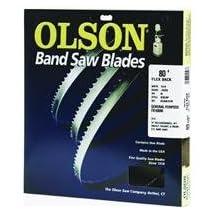 Olson Saw FB19280DB 3/8 by 0.025 by 80-Inch HEFB Band 4 TPI Skip Saw Blade