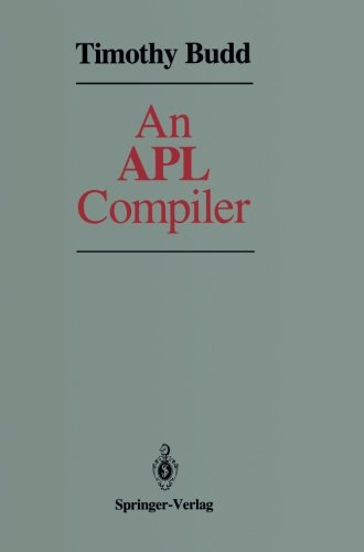 Price comparison product image An APL Compiler