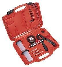 Sistema de frenos Líquido sangrado Kit de herramientas hidráulico del embrague herramienta de un hombre de