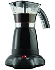 Brentwood RA40653 Appliances TS-118BK Moka Expresso Maker, Black 6-Cup
