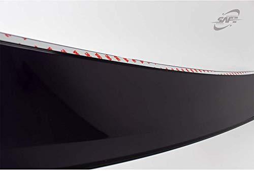 Rear Glass Roof Spoiler Deflector for 2014~2018 Kia Forte 4door Sedan