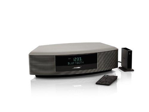 Bose Wave Radio III with Bluetooth Music Adapter- Titanium Silver (Bose Radio Tuner)
