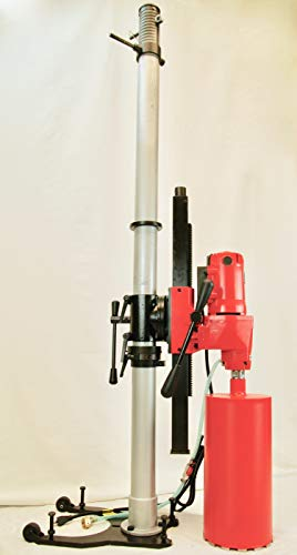 BLUEROCK 8″ Z1 TEL Telescoping Stand Concrete Core Drill Any Angle