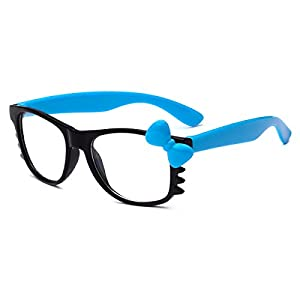 Hello Kitty Kids Baby Toddler Clear Lens Sunglasses Age up to 4 years - Black & Blue