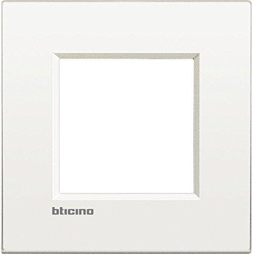 Bticino livinglight Placa air 2 m/ódulos blanco