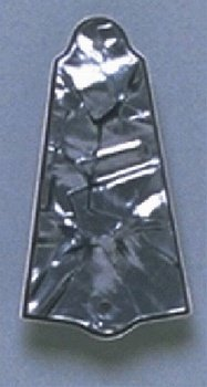 Allparts PG-0485-053 Black Pearloid Truss Rod Cover by Allparts (Image #1)