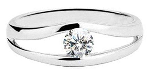 AmaranTeen - 925 AAA Classic .25Ct Wedding Jewelries Ring (SIZE : 7)