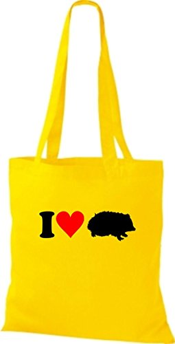 Shirtstown - Bolso de asas para mujer amarillo - amarillo
