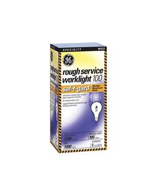 Ge Rough Service Light Bulb 100 W 1230 Lumens A21 Med Base Medium Base (E26) 5-1/4 In. Boxed