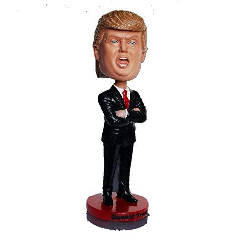Desk Decoration Donald Trump Bobblehead Doll Car Dashboard Bobblehead Accessories (B)