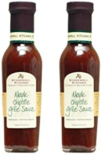 product image for Stonewall Kitchen Maple Chipotle Grille Sauce, 11 Fluid-Ounces (Pack of 2)