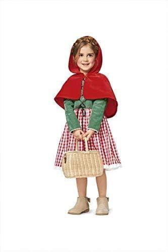 19 x 14 x 0,5 cm Burda B2356 Patron Carnaval 2356 Petit Chaperon Rouge et Princesse Blanc Papier