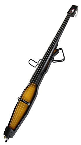 Barcelona 3/4-Size Electric Double Bass - Violin Brown