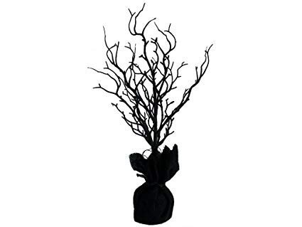 Darice Halloween Tree 18'' Twig Black Table Top Decoration by Darice