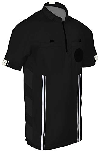 - One Stop Soccer Official Referee Soccer Jersey Large/Black