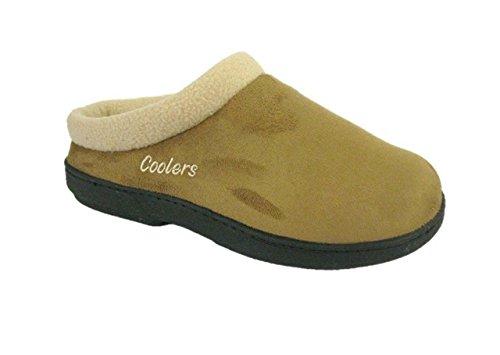Coolers - Zapatillas de estar por casa para mujer Tan/Beige
