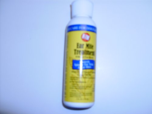 R-7M Ear Mite Treatment for Dogs and Cats 4 ozs