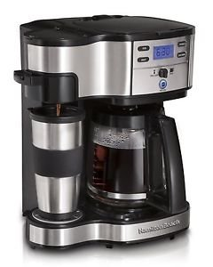 Hamilton Beach Single Serve Coffee Brewer and Full Pot Coffee Maker 2-Way (49... (49980a Hamilton Beach compare prices)
