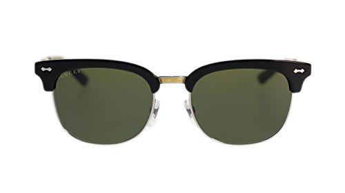 Gucci Women's Sunglasses GG2273 CSA Black Palladium/Grey Green Lens