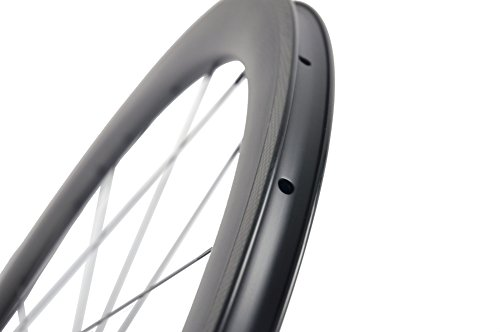 Superteam Carbon Fiber Clincher Road Bike Wheelset 700C25 Matt Finish 1 Pair by Queen Bike (Image #8)